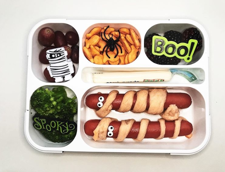Halloween Bento Lunch Box Ideas
