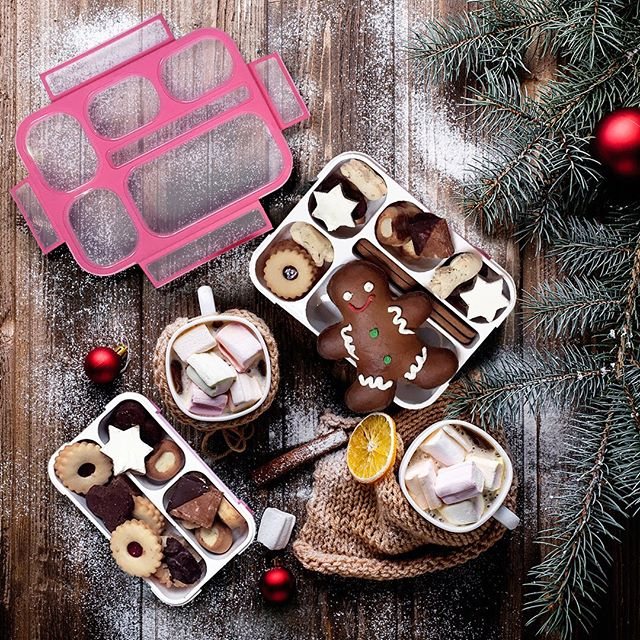 Holiday Bento Lunch Box Inspo