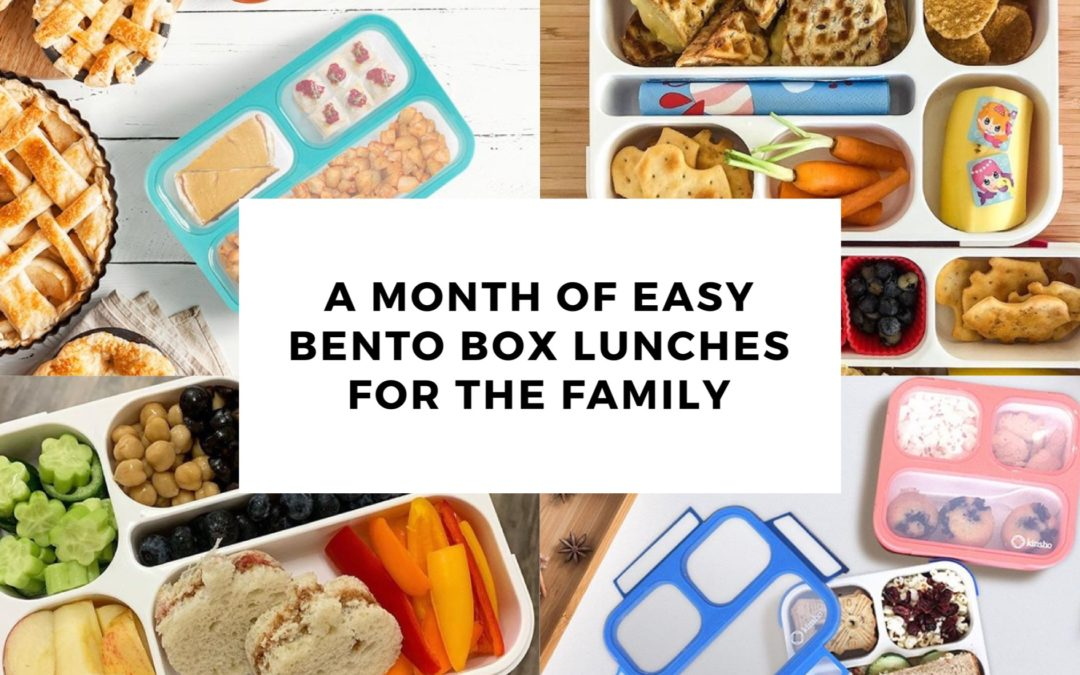 A Month of Easy Bento Box Lunches
